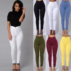 Sexy Fashion Women Skinny Leggings Pencil Pants Fitness leggins High Waist Pants white s
