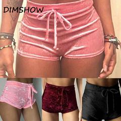 Sexy Hot Shorts Summer Casual Shorts Beach High Waist Short pink m