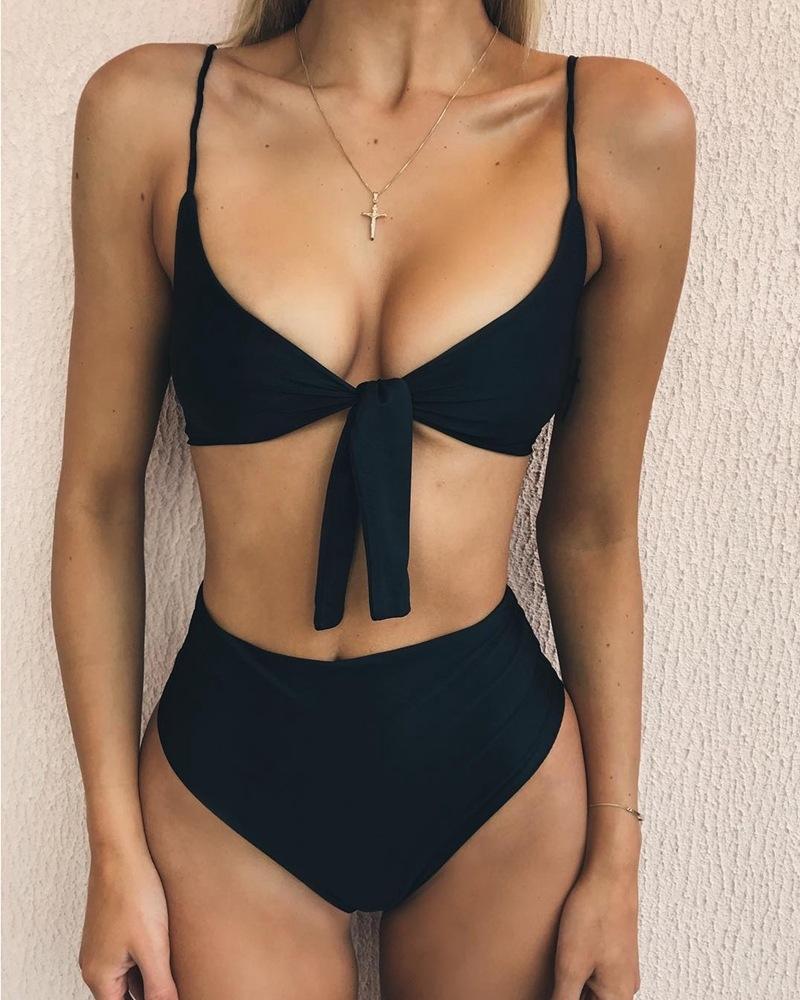 8cdbaf4ea2272 2018 new sexy bikini set women bandage summer beach swimwear ...