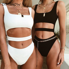 Hollow Out Sleeveless Summer Bodysuit Women Backless Skinny Sexy Women Rompers Jumpsuit Beach Casual black s