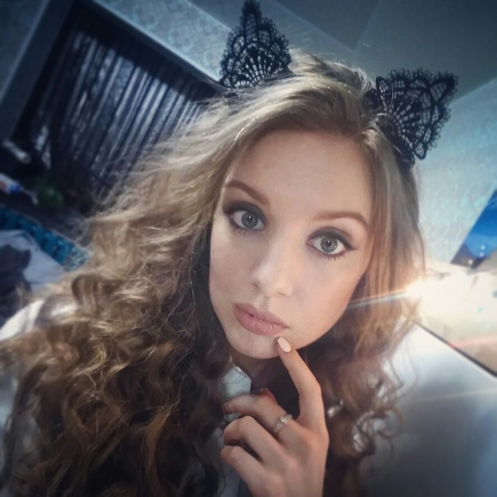 Women Girls Cute Headband Sexy Fashion Lace Cat Ear Hairband Hair Accessories Party Gift black one size