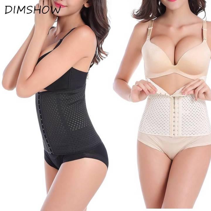 Waist trainer waist trainer corset slimming belt White s
