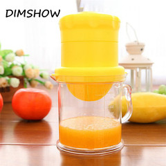Manual Juicers Convenient Fruit Tools Plastic Hand Squeezer Orange Lemon Juice  Citrus Juicer Tools random color