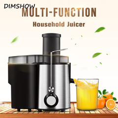 Automatic Household 1L Electric Juicer Diameter Stainless Multifunctional  Mixer Fruit Vegetable black