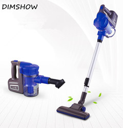 ow Noise Home Rod Vacuum Cleaner Handheld Dust Collector household Aspirator blueπnk blue 42x16x28cm