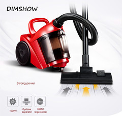 Multifunctional Dry wet dual-use Household horizontal handheld vacuum cleaner dust catcher sweeper red 1 37*30*30CM