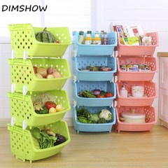 Storage Basket PP Colorful Sundries Organizer Big Capacity Toys Storage Box Bin Organizer Set green 2 layers