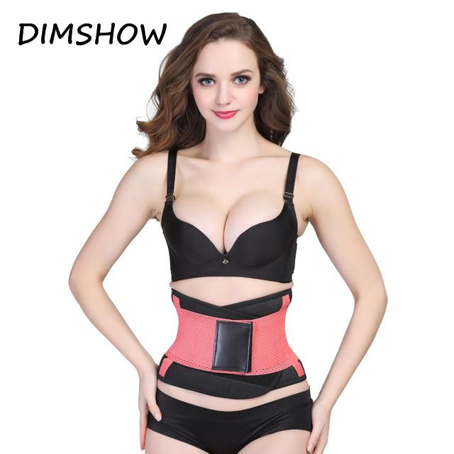 Slimming Underwear Waist Corsets Shapers Body Shaper Women Belt pink xl