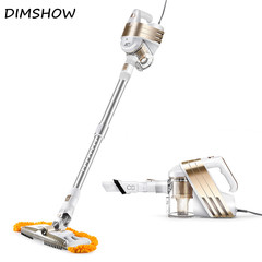 Low Noise Home Portable Vacuum Cleaner Handheld Wiping & Abosorbing Dust Collector Mop Aspirator Glod 22*65*16.5cm