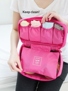 New Fashion Underwear / Bra Organizers Cosmetics Bags Travel Business Trip Accessories Waterproof pink