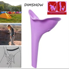 New Design Women Urinal Soft Silicone Urination Device Travel Outdoor Camping Stand Up Pee Device as picture