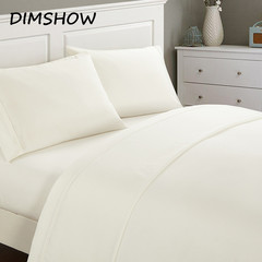 4pcs Bedding Set Minimalist Soft and Comfortable Bed Sheet Duvet Cover Pillowcase Color Nordic Style white TWIN