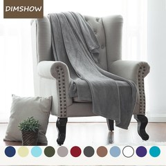 Warm Flannel Blanket Coral Plaid Travel Manta Soft Blanket For Beds Throws Fleece Blanket Manta grey 150*200 size