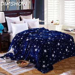 Super Soft Fleece Throw Blanket fashion Galaxy design Blankets flannel soft Plaids 1.5M/1.8M/2.0M 1 150*200 size