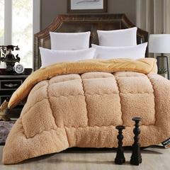 Camelhair super warm winter wool quilt comforter/duvet/blanket Lamb Down Fabric camel 150cmx200cm 2000g