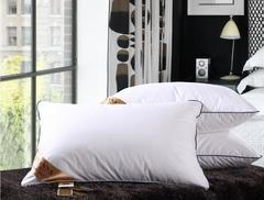 1 Piece Bedding Set Feather Pillow Cotton Neck care Pillow With Polyester/cotton Pillow-Filling white 45*72cm