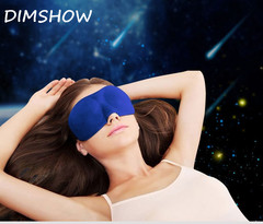 3D Memory Foam Eye Shade Men Women Sleeping Nap Breathable Eye Shade Eye Mask Bedding Accessories random color 23*9cm