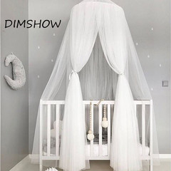 Lovely Baby Hammock Toys tent Bed Crib Netting Big Top Hanging Toy Play Game Tent Party Decoration white 240cm
