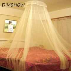 Elgant Hung Dome Mosquito Nets For Summer Polyester Mesh Fabric Home Textile  Accessories Supplies white 240cm