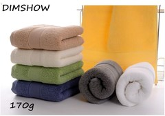 Top Quality Egyptian Cotton Hand Face Towel- 36x76cm, 170g- Hotel & Home Towels coffee 36*76cm