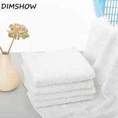 100% Soft Cotton 35*70cm Hotel Bath Towel Washcloths Hand Towels white 100g