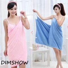 New Bath Towel Fashion Lady Girl Wearable Fast Drying Magic Bath Towel Beach Spa Bathrobes Bath pink 70*140cm