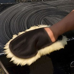 Soft Wool Car Wash Cleaning Glove gloves Car Motorcycle brush Washer for Car Care Cleaning tool