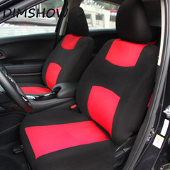 10Pcs Universal Car Seat Cover Set Kits Mesh Sponge Headrest  Protector Car Styling For 4 Seasons red 135*76cm