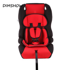 Kid Protection Seats Cushion For Car Thicken Child Chairs In Car 9M~12Y Children Safety Car Seats red 48*43*68cm