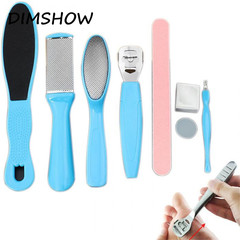 8 Pcs/lot Foot File Pedicure Tools Foot Care Tools Exfoliation For Feet Saw-saw Instruments as picture
