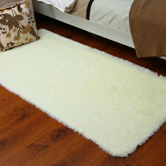 Living room Carpet Antiskid Mat Soft Carpet Mat 11 Color bedroom Carpet DIMSHOW white 60*160cm