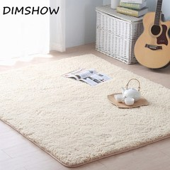 Living Room Area Carpet Big Size Mat Anti-Slip Bedroom Carpet Bedroom Mats Home textile Soft carpet white 60*160cm