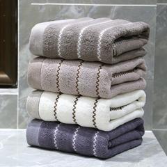 Face Towel 34*74Cm 100% Cotton 4 Colors Bath Towel Quick Dry DIMSHOW white 34*74cm