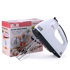 7 Files Dough Mixer Egg Beater Food Blender Home Multifunctional Food Processor Electric Blender Random Color