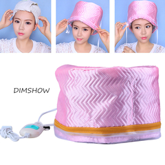 Electric Hair Heating Cap Hair Dryer Thermal Treatment Hat Beauty SPA Nourishing Hair Styling Tools As picture 25*18cm