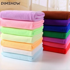 70 x 140 cm Bamboo Fiber Bath Towel Super Absorbant Home Textile Large Thick Towel random color 140*70cm
