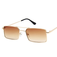 Fashion Ladies Square Sunglasses Small Candy Color Lens Polarized Sun Glasses Vintage Shade UV400 1 one size
