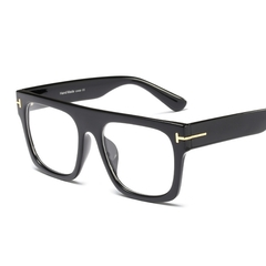 Vintage Women Square Clear Glasses Frame Optical Glasses spectacle frame Men Eyeglasses Frames 1 one size
