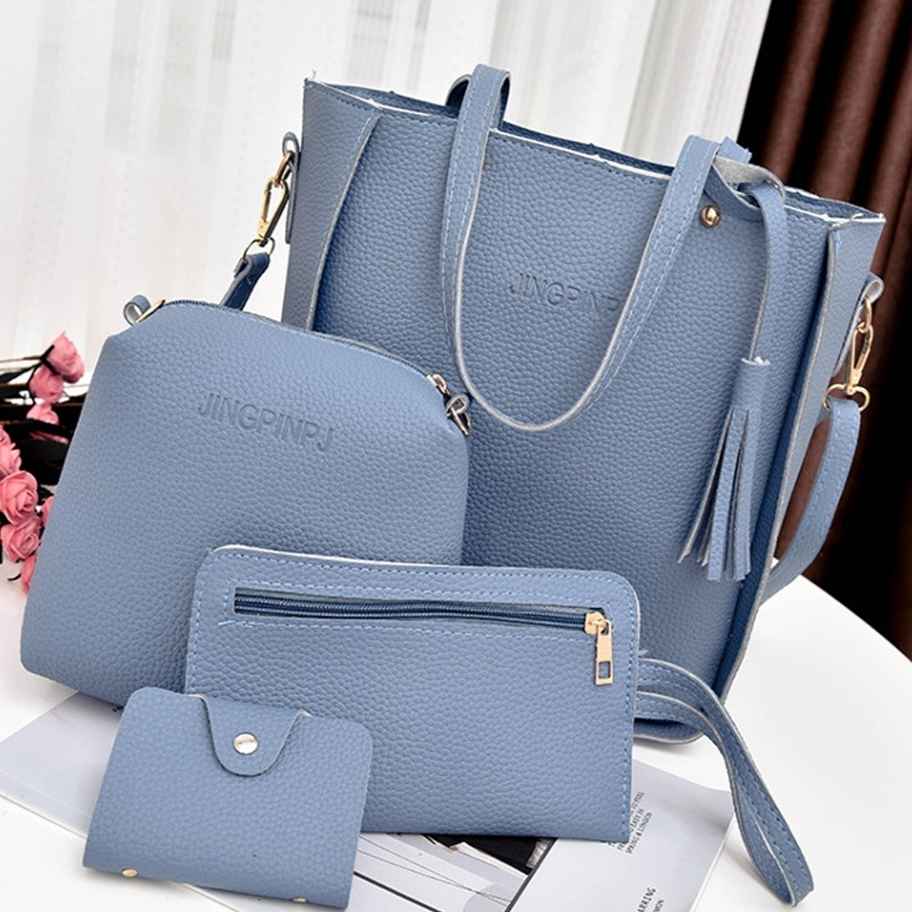 256ca79c565e ... Included  4pcs Women Bag Note  1. Due to the light and screen  difference