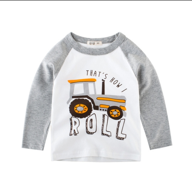 0d619fd6f798 New product boy long sleeve t-shirt autumn children s clothing baby ...