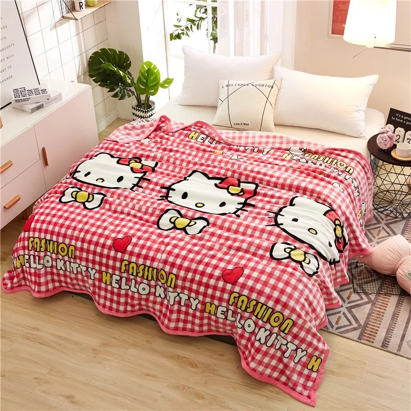 2018 New Soft Air Conditioning Blanket Flannel Sofa Blanket Summer