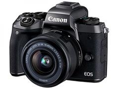 Canon EOS M5 Compact System Camera with ef-m 15-45 is stm lens kit Brand new genuine unopened black one size