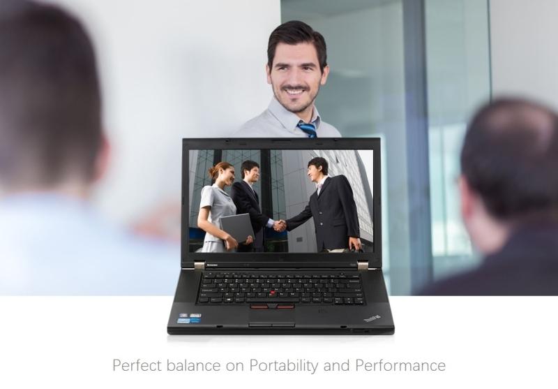 15inch/Thinkpad office/gaming Laptop Computer/Intel i5 DualCore/256G SSD/8G-R black 4g-ram/128g ssd 3