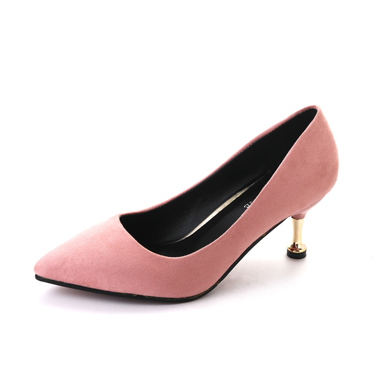 e4ef56259 New shallow high-heeled shoes with pointed thin heels pink 41: Product No:  2895106. Item specifics: Brand: