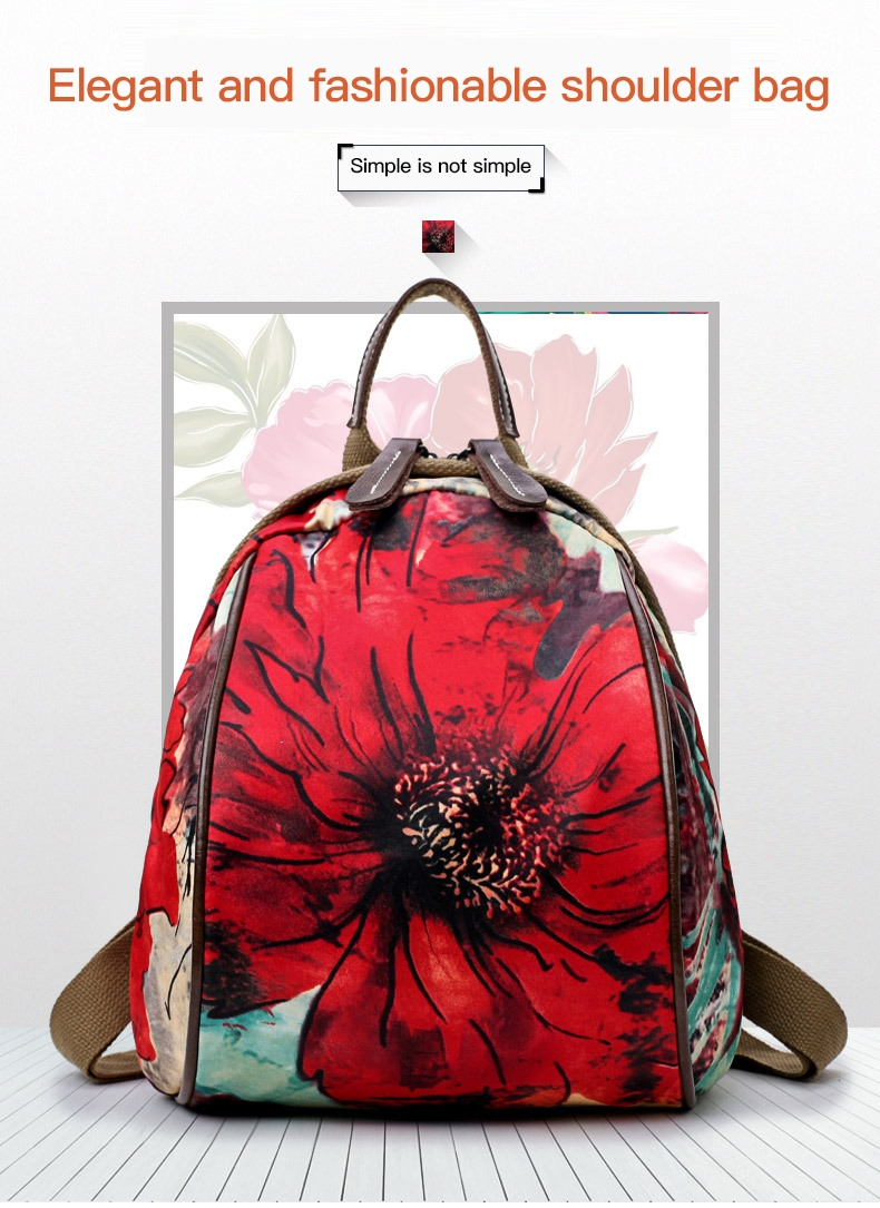 944eff8ce3 Oxford Cloth Shoulder Bag NEW female leisure travel female backpack ...
