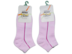 1 Pair Boys And Grils Kids Accessories Warm Nice Material Pink Striped Ankle Children's Socks