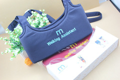 Dual-use Toddler and Waistcoat for Baby Walker Baby Walking Assistant light blue one size