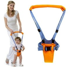 Baby Walker Learning To Walk Harness Basket Type Baby Walk Learning Assistant Belt Adjustable orange one size