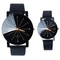 Pack Of 2/Set Fashion Watches Women Men Lovers Watch Leather Quartz Wristwatch Couple gift As Picture one size