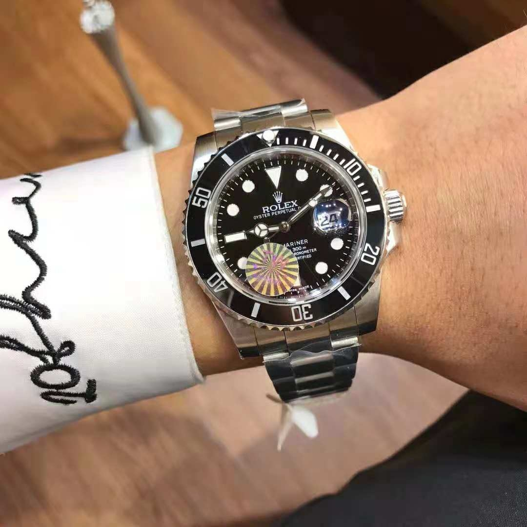 Rolex Submariner(Taiwan factory,high quality)men watch rolex watches black  taiwan male 40mm